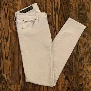 Armani Exchange Gray Corduroy Skinny Jeans Size 29